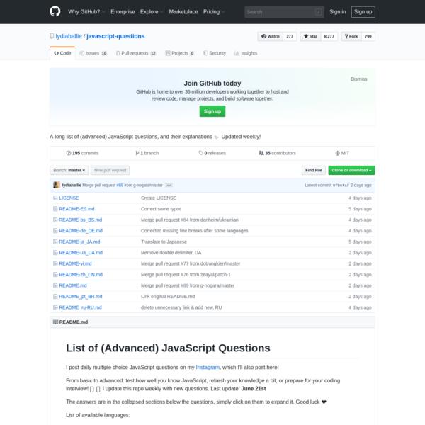 lydiahallie/javascript-questions