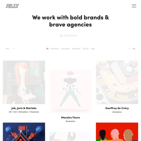 Artists & Directors   Jelly London