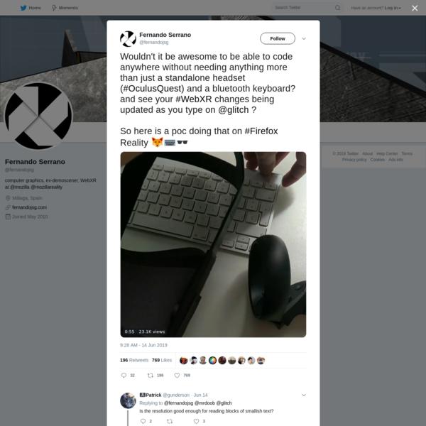 Fernando Serrano on Twitter