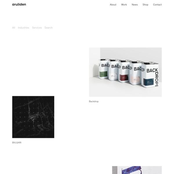 Work | Aruliden