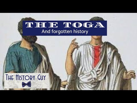 """History of the Toga and the """"Gens Togata"""""""