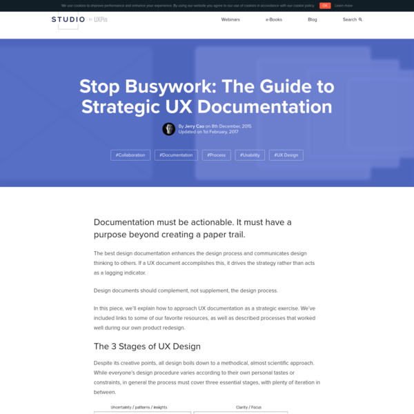 Stop Busywork: The Guide to Strategic UX Documentation