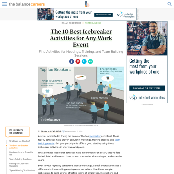 Find the 10 Best Icebreaker Activities for Any Work Event