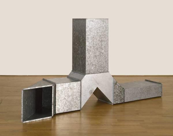 Square Tubes [Series D], 1967. Charlotte Posenenske.
