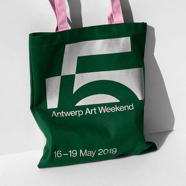 Antwerp Art Weekend by @vrintskolsteren on Visual Journal - #branding #identity #logo #graphicdesign #design #minimalism #ma...