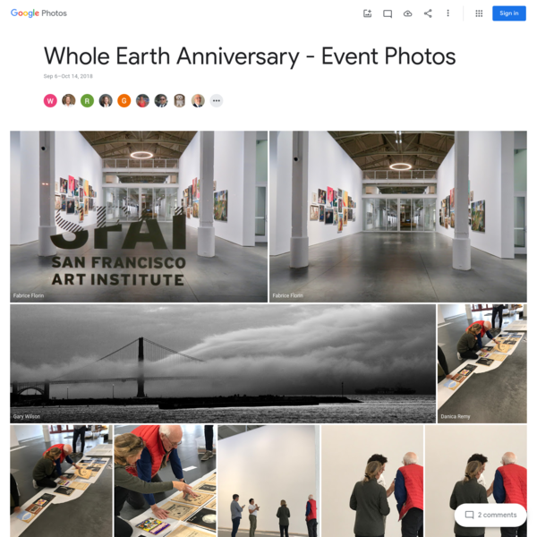 Whole Earth Anniversary - Event Photos