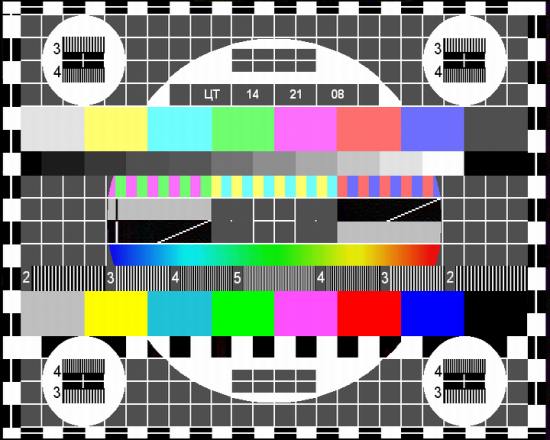 TV Test Cards