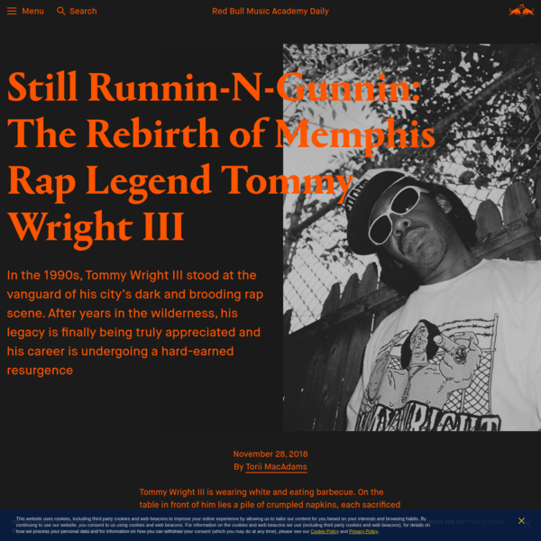 The Rebirth of Memphis Rap Legend Tommy Wright III
