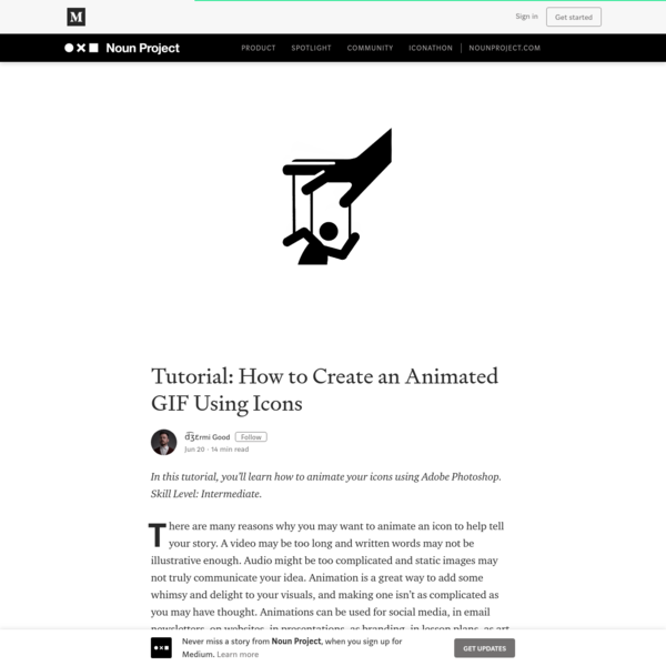 Tutorial: How to Create an Animated GIF Using Icons