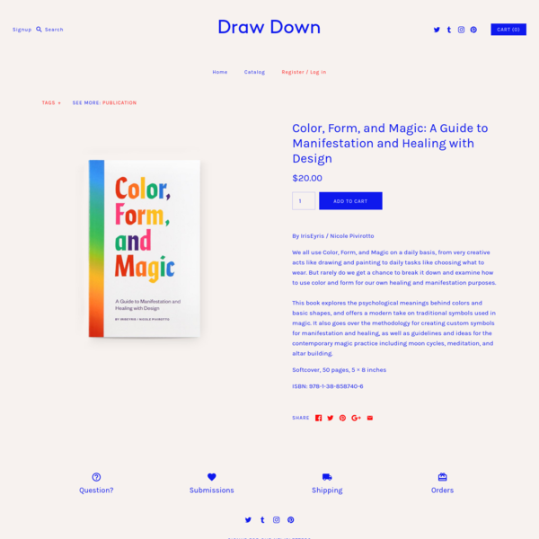 Color, Form, and Magic: A Guide to Manifestation and Healing with Design - Draw Down