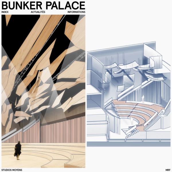 Bunker Palace   Bureau d'architecture