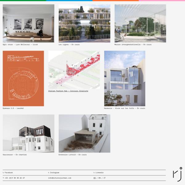 Rotunno Justman, atelier d'architecture