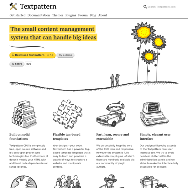 Textpattern CMS | Open source content management system