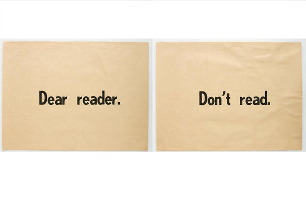 Ulises Carrion, Dear Reader