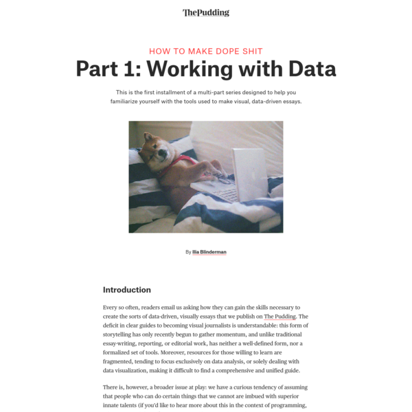 Making Internet Things, Part 1: Working with Data