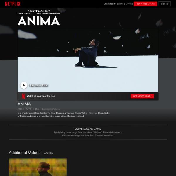 ANIMA | Netflix – offizielle Webseite