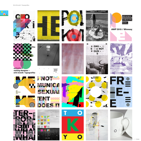 Erik Brandt / Typografika
