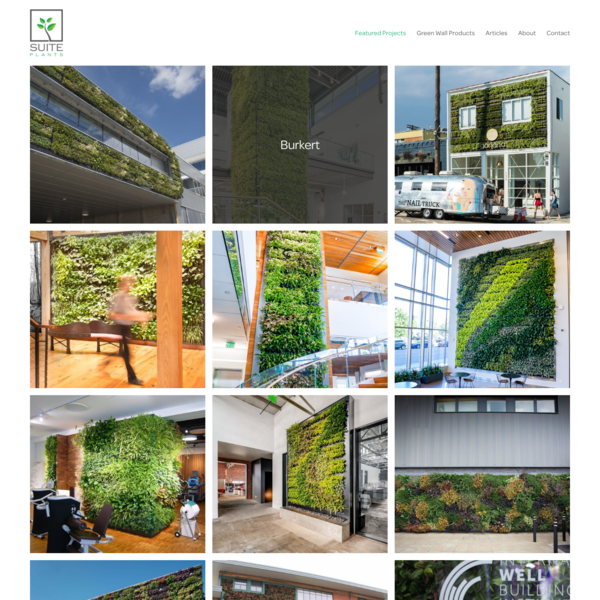 Beautiful Greenwall Projects - Greenwall Examples & Photo Gallery