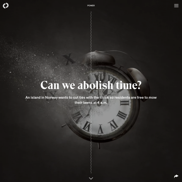 Can we abolish time?