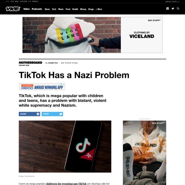 TikTok Has a Nazi Problem