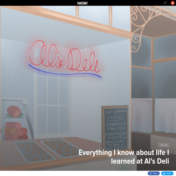 Everything I know about life I learned at Al's Deli
