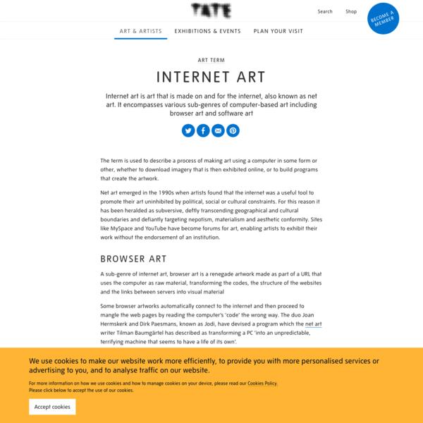 Internet Art - Art Term | Tate