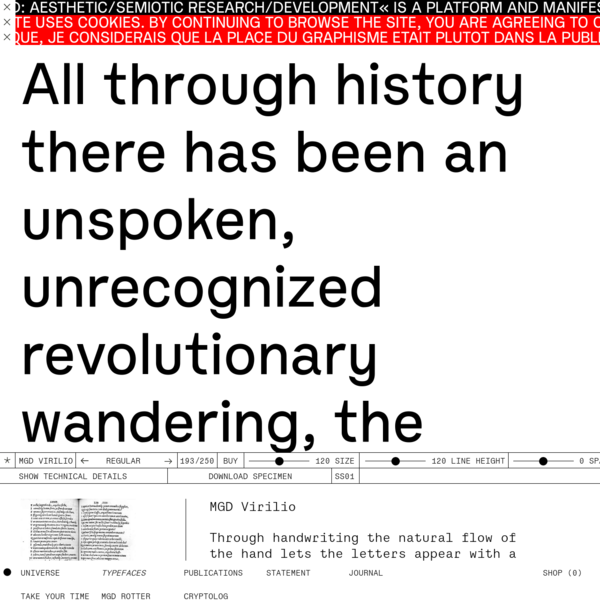 iamgod: aesthetic/semiotic research/development