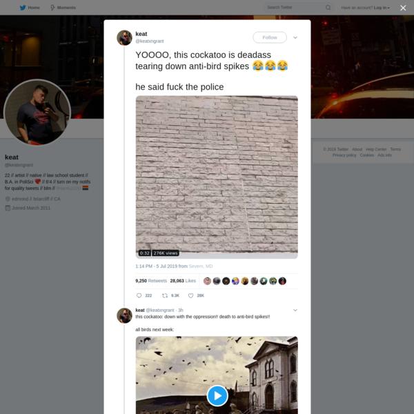 keat on Twitter