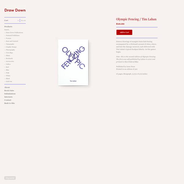 Draw Down - Olympic Fencing / Tim Lahan
