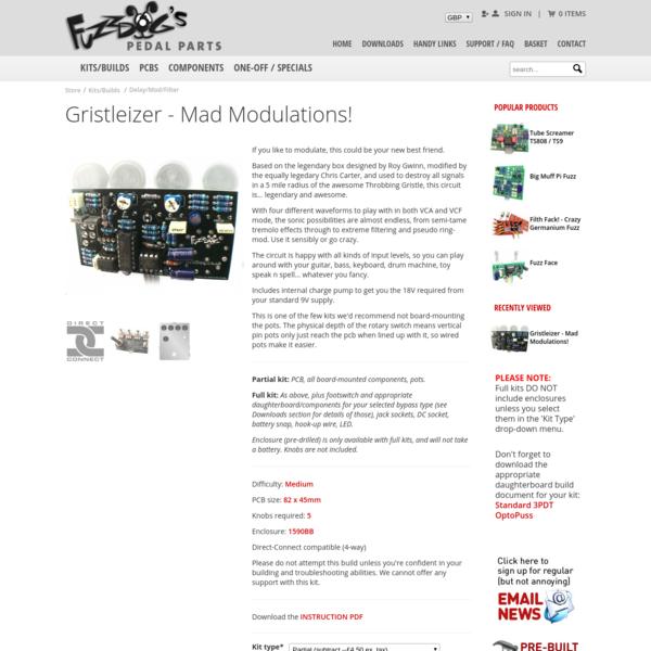 Gristleizer - Mad Modulations!