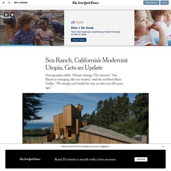 Sea Ranch, California's Modernist Utopia, Gets an Update