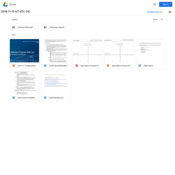 2018-11-15 IoT-ATL-GE - Google Drive