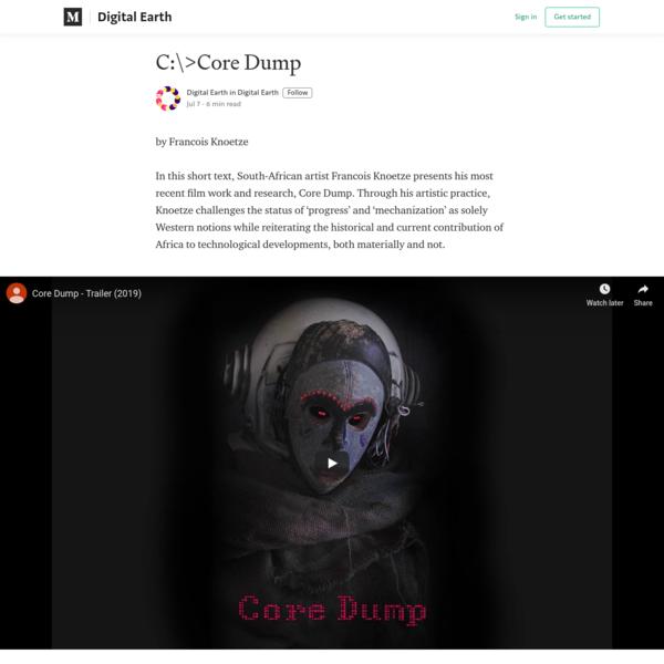 C:\>Core Dump - Digital Earth - Medium