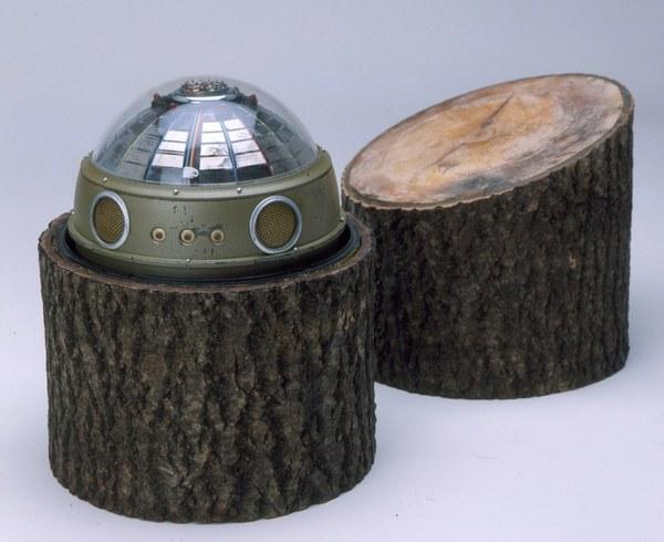 Tree Stump Radio Transmitter