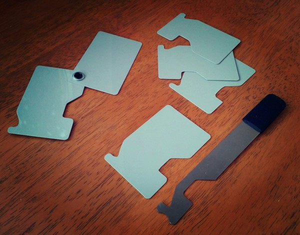 Luggage Tag/Credit Card Latch Bypass Tool