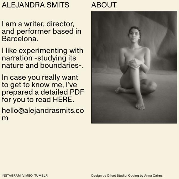 Alejandra Smits