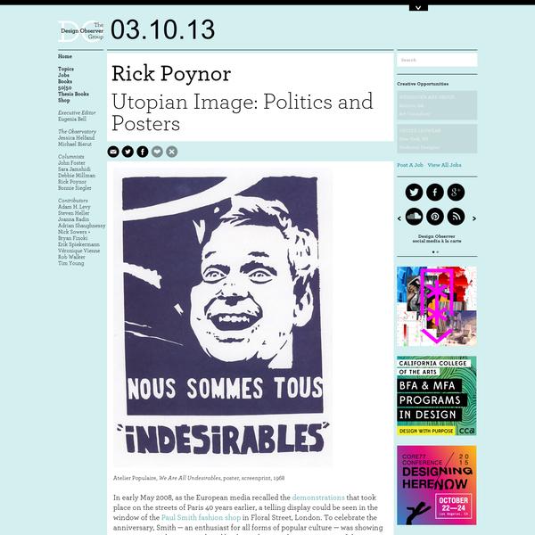Utopian Image: Politics and Posters