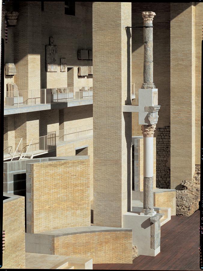 Giorgio Grassi_Renovation of the Sagunto Roman Theater
