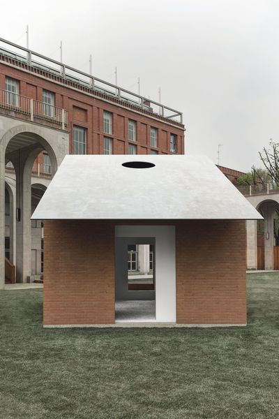 David Chipperfield, Michelangelo Pistoletto_Domus Pavilion