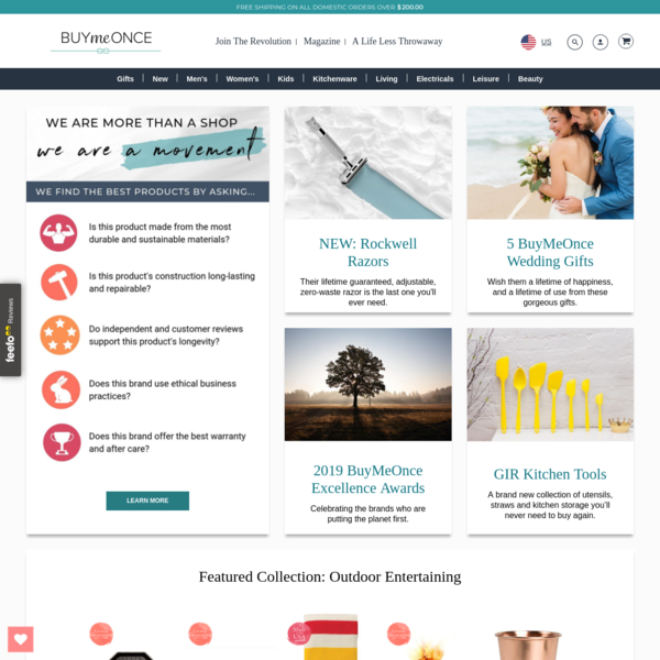 BuyMeOnce   Selling Products That Are Built To Last