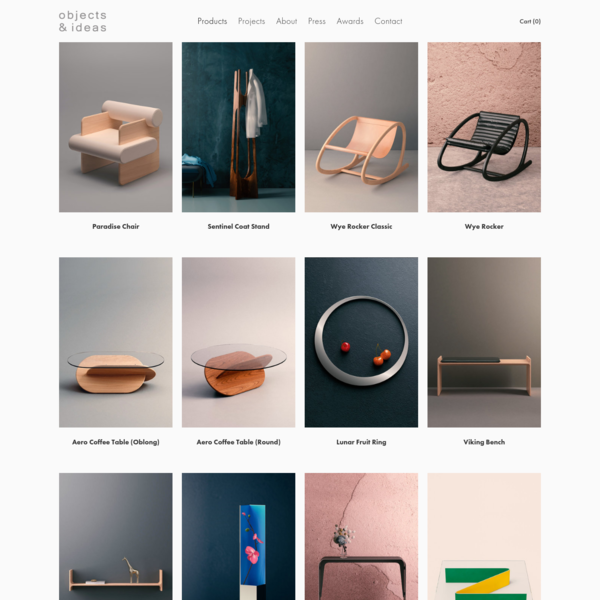 Products - OBJECTS & IDEAS