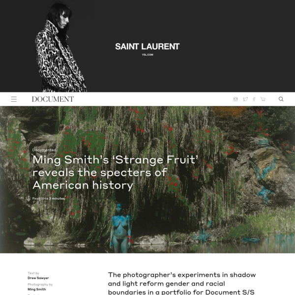 Ming Smith's 'Strange Fruit' reveals the specters of American history