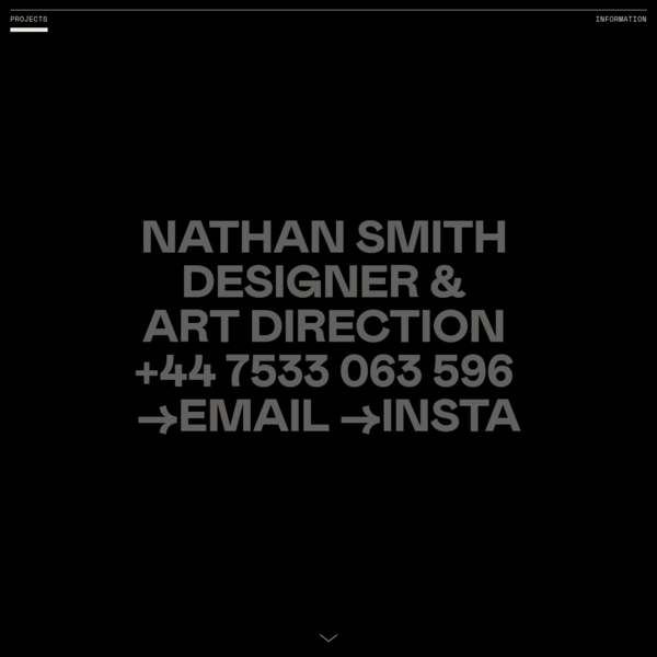 Nathan Smith - Design & Art Direction