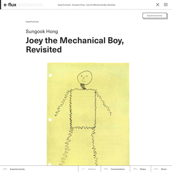 Joey the Mechanical Boy, Revisited
