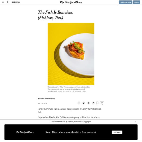 The Fish Is Boneless. (Fishless, Too.)