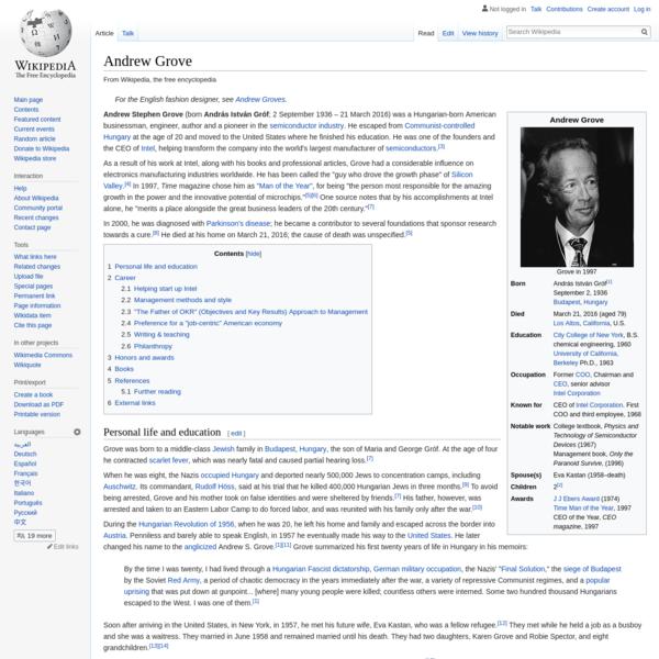 Andrew Grove - Wikipedia