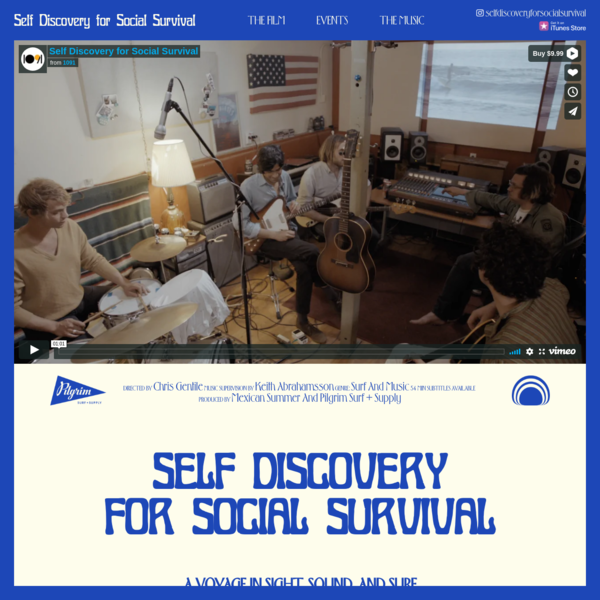 Self Discovery for Social Survival