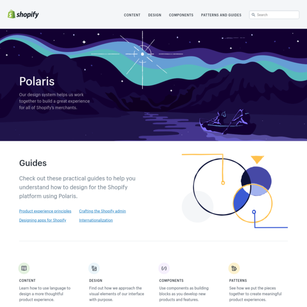 Shopify Polaris