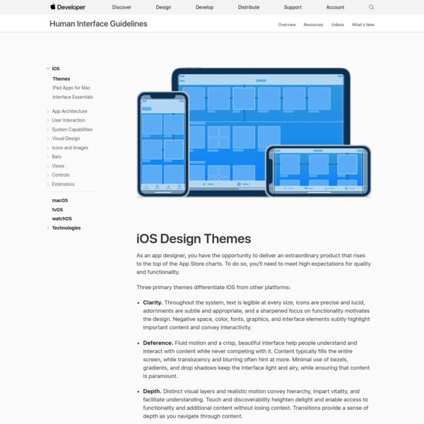 Themes - iOS - Human Interface Guidelines - Apple Developer