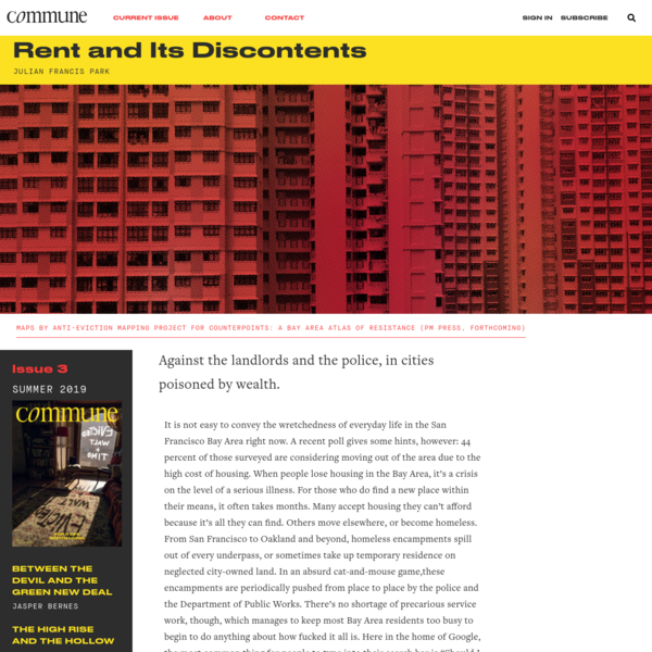 Rent and Its Discontents * Commune